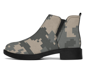 ACU Digital Camouflage Ankle Boots