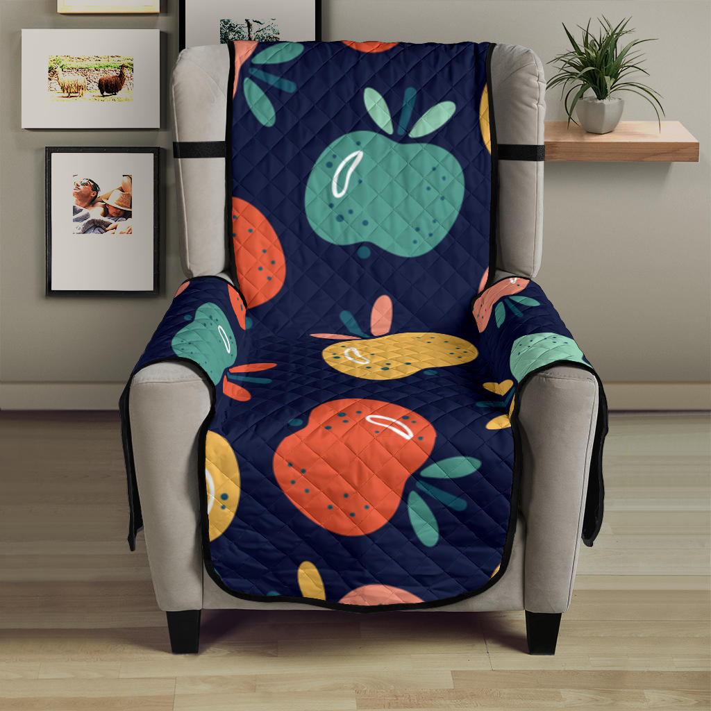 Apple Pattern Print Design AP09 Armchair Cover Protector