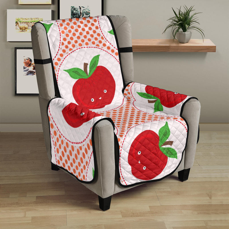 Apple Pattern Print Design AP08 Armchair Cover Protector