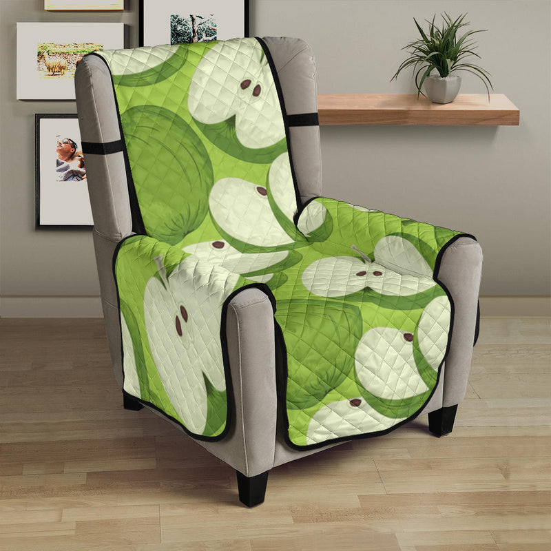Apple Pattern Print Design AP010 Armchair Cover Protector