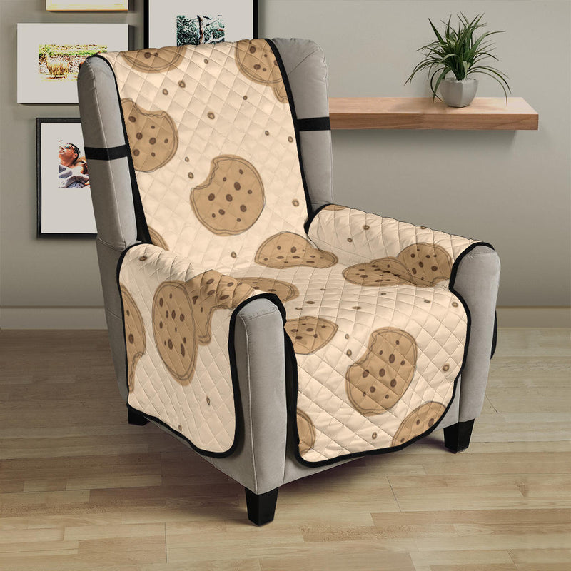 Biscuit Pattern Print Design 02 Armchair Cover Protector