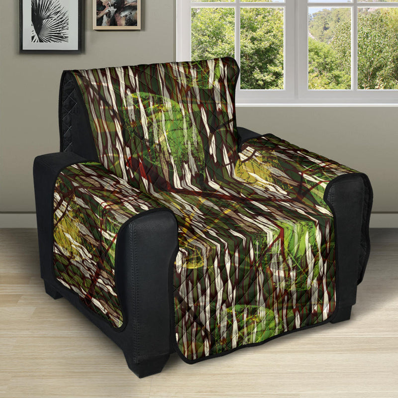 Camouflage Realtree Pattern Print Design 02 Recliner Cover Protector