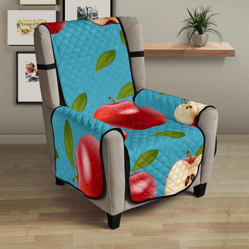 Apple Pattern Print Design AP012 Armchair Cover Protector
