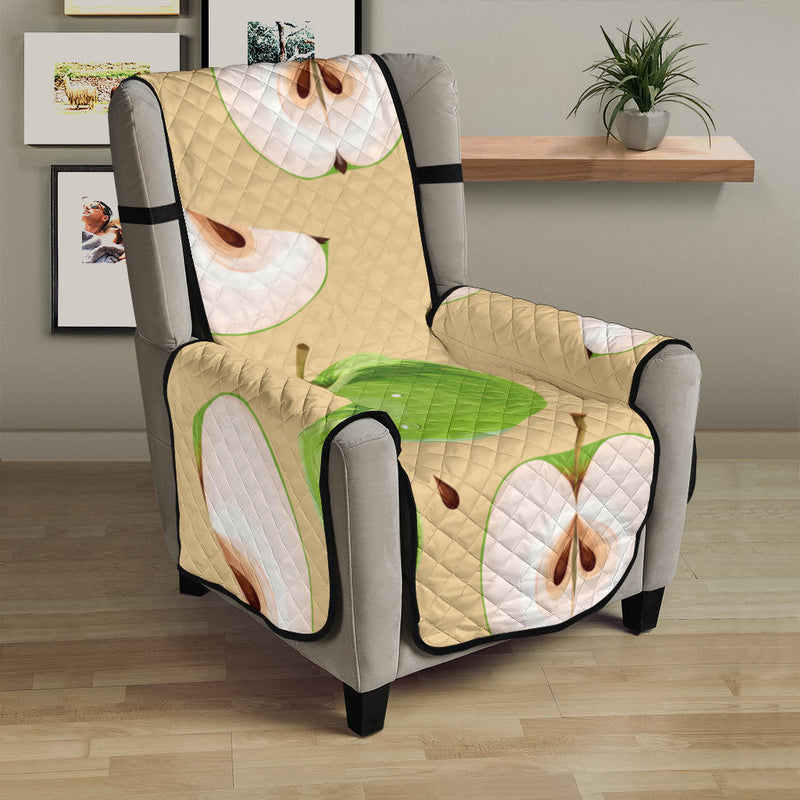 Apple Pattern Print Design AP07 Armchair Cover Protector