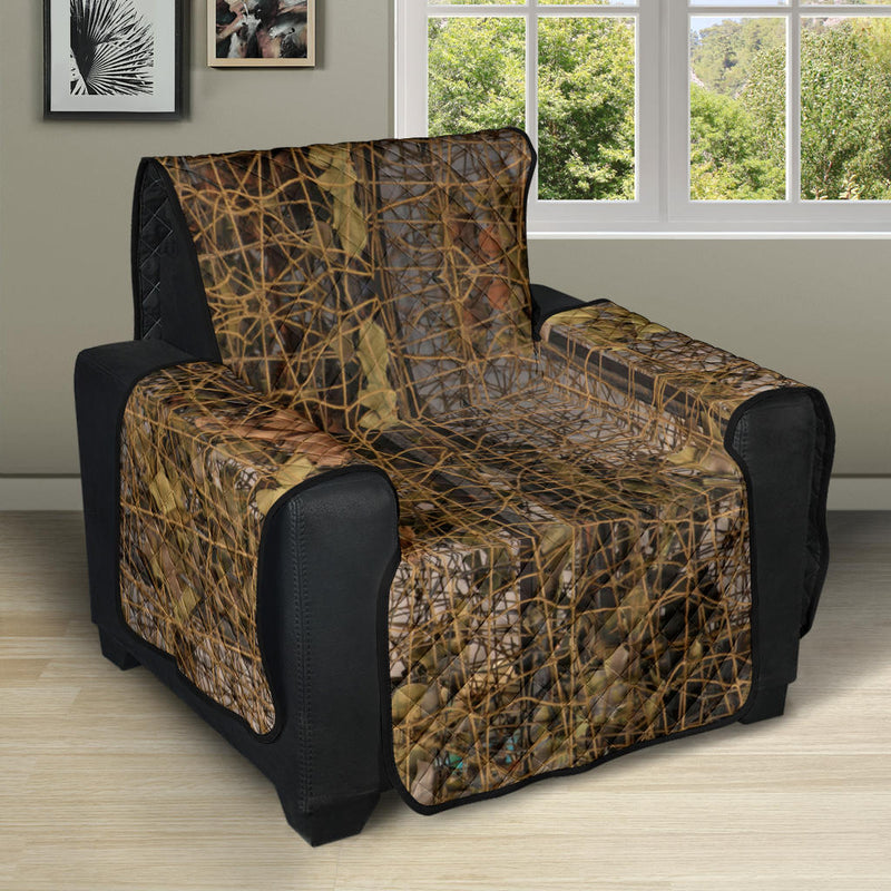 Camouflage Realtree Pattern Print Design 01 Recliner Cover Protector