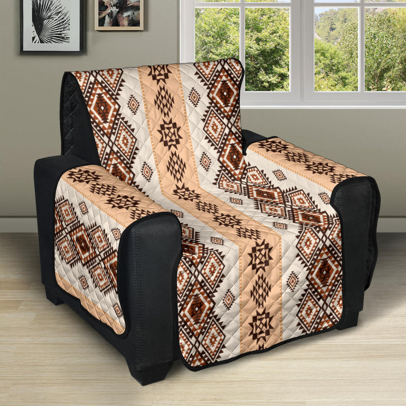Native Classic Pattern Print Recliner Cover Protector