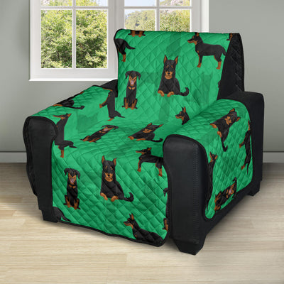 Beauceron Pattern Print Design 01 Recliner Cover Protector