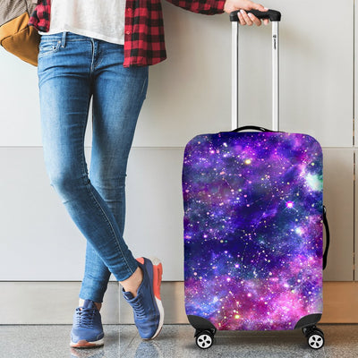 Galaxy Night Stardust Space Print Luggage Cover Protector