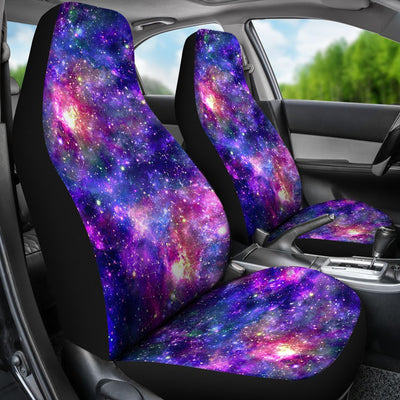 Galaxy Night Stardust Space Print Universal Fit Car Seat Covers