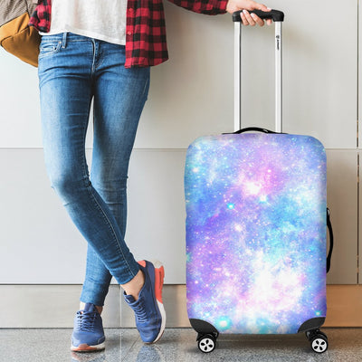 Galaxy Stardust Pastel Color Print Luggage Cover Protector