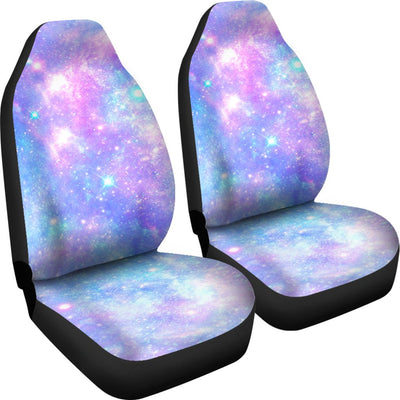 Galaxy Stardust Pastel Color Print Universal Fit Car Seat Covers