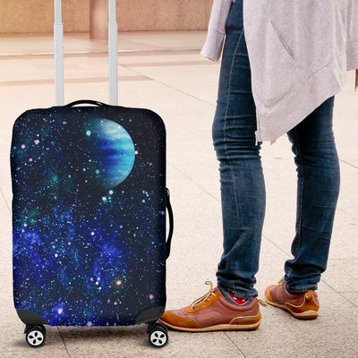 Galaxy Stardust Planet Space Print Luggage Cover Protector