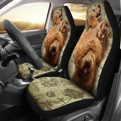 Goldendoodle Design No1 Print Universal Fit Car Seat Covers