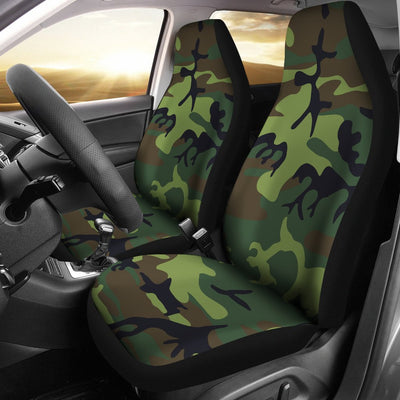 Green Camo Design No1 Print Universal Fit Car Seat Covers