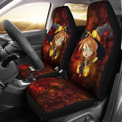 Halloween Design No1 Print Universal Fit Car Seat Covers