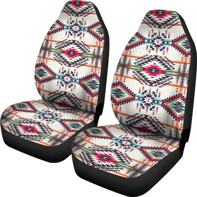 Indian Navajo Art Themed Design Print Universal Fit Car Seat Covers