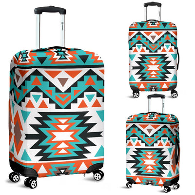 Indian Navajo Ethnic Themed Design Print Luggage Cover Protector