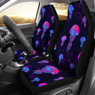 Jellyfish Neon Print Universal Fit Car Seat Covers