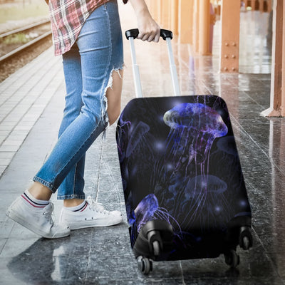 Jellyfish Themed Luggage Cover Protector