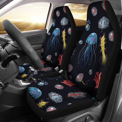 Jellyfish Underwater Print Universal Fit Car Seat Covers