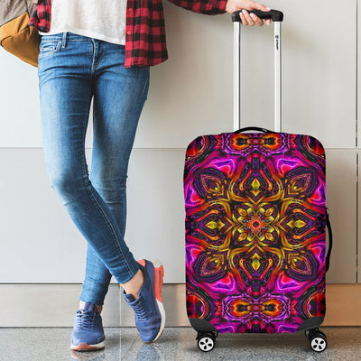 Kaleidoscope Abstract Print Design Luggage Cover Protector