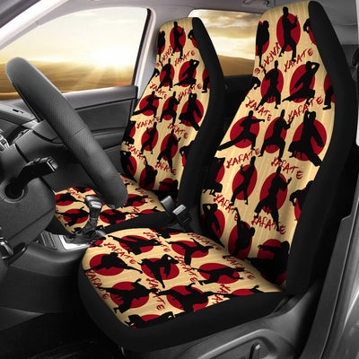 Karate Design No1 Print Universal Fit Car Seat Covers