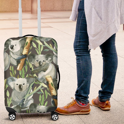 Koala Pattern Design Print Luggage Cover Protector