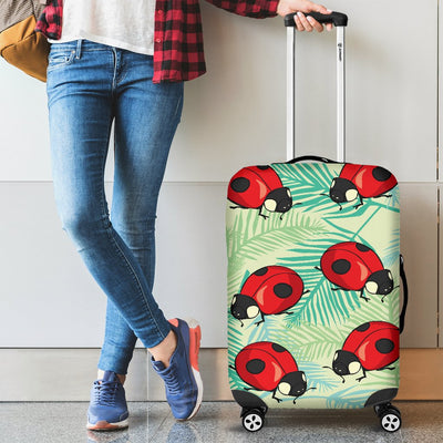 Ladybug Cute Print Pattern Luggage Cover Protector