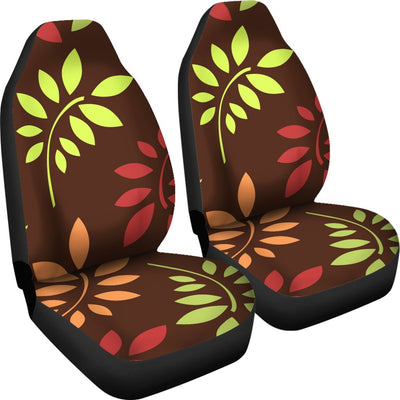 Leaves Print Universal Fit Car Seat Covers