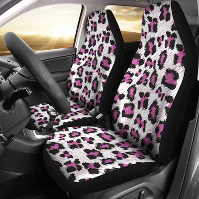Leopard Pink Skin Print Universal Fit Car Seat Covers