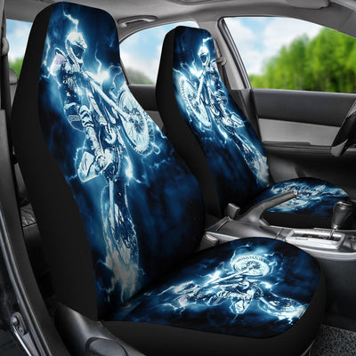 Motocross Motorbike Design No1 Print Universal Fit Car Seat Covers