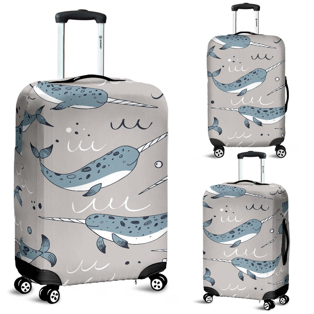 Travel Luggage Cover Realistic Forest Camouflage Tree Pattern Suitcase Protector
