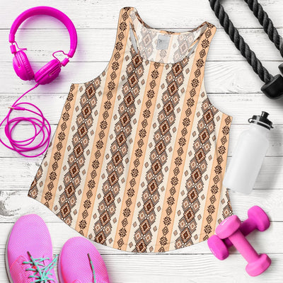 Native Classic Pattern Print Women Racerback Tank Top