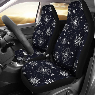 Nautical Sky Design Themed Print Universal Fit Car Seat Covers