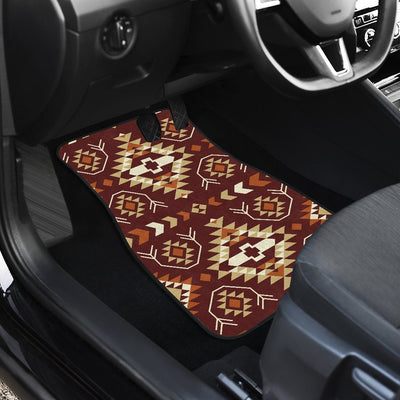 Navajo Native Color Print Pattern Car Floor Mats