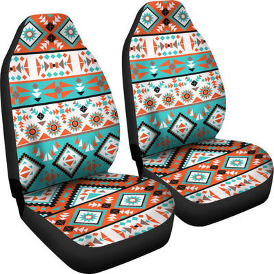 Navajo Style Print Pattern Universal Fit Car Seat Covers