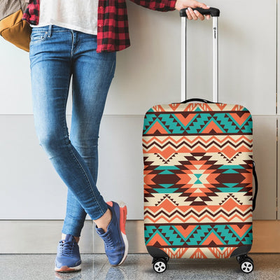 Navajo Western Style Print Pattern Luggage Cover Protector