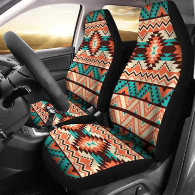 Navajo Western Style Print Pattern Universal Fit Car Seat Covers