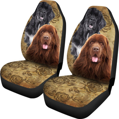 Newfoundland Design No1 Print Universal Fit Car Seat Covers
