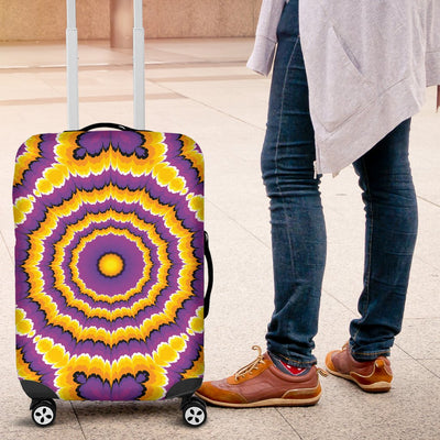 Optical Illusion Expansion Luggage Cover Protector