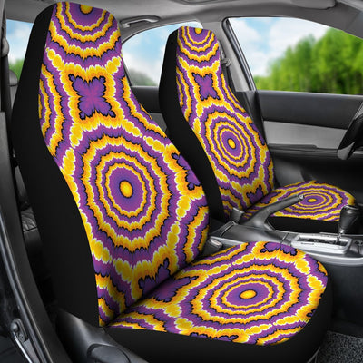 Optical illusion Expansion Universal Fit Car Seat Covers