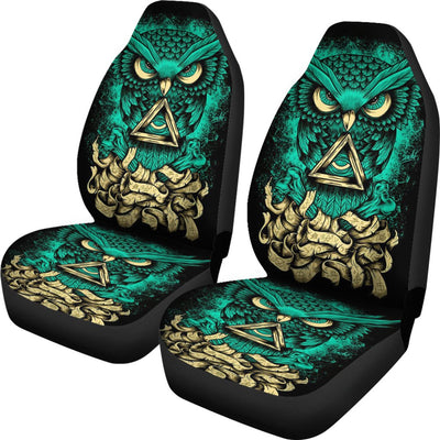Owl Design No1 Print Universal Fit Car Seat Covers