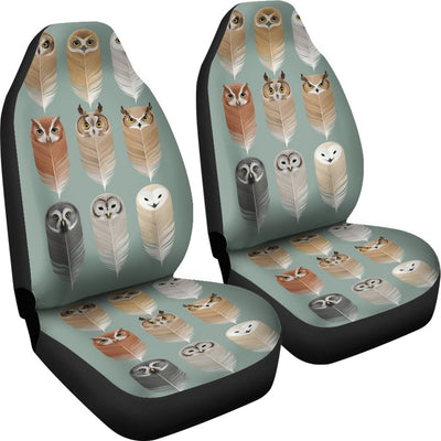 Owl Spirit Design No1 Print Universal Fit Car Seat Covers