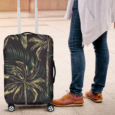 Palm Tree Background Design Print Luggage Cover Protector