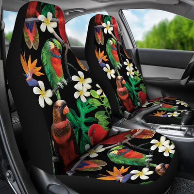 Parrot Design Print Universal Fit Car Seat Covers