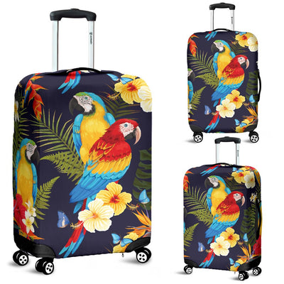 Parrot Themed Design Luggage Cover Protector
