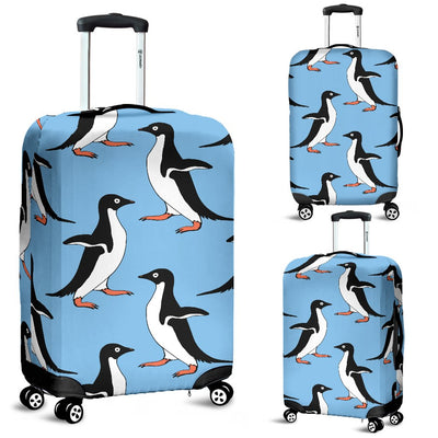 Penguin Dance Pattern Luggage Cover Protector