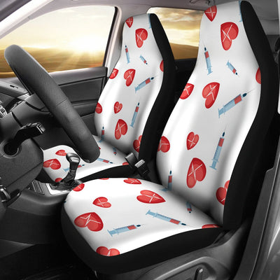 Phlebotomist Medical Concept Universal Fit Car Seat Covers