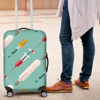 Phlebotomist Medical Print Luggage Cover Protector