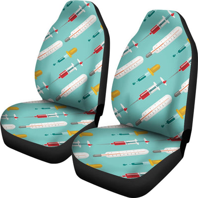 Phlebotomist Medical Print Universal Fit Car Seat Covers